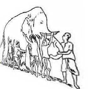 Слон и слепые
